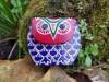 Coin Purse Blue Owl