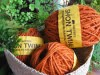 twine hemp orange 50 metres