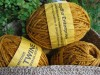Twine hemp tumeric 50 meters