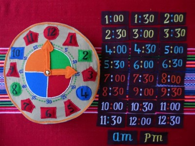 Clock Learning Time