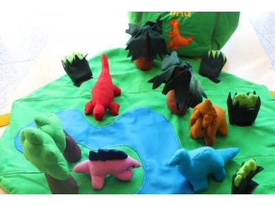 Dinosaur Play Mat and Bag