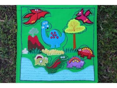 Dinosaur Puzzle Display