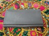 Wallet Ladies Grey Soft Buff Leather