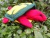 Tortoise Tuck Me Away Hand Puppet Blanket Material