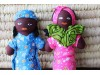 African Doll Pair