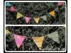 Bunting Sari Glitters
